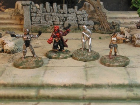 15mm Sci Fi from Khurasan Miniatures Movie inspired character miniatures