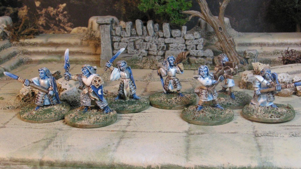 15mm Demonworld Dark Elves from Ral Parthap