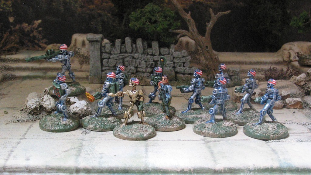 15mm Terminator Robots from 15mm.co.uk