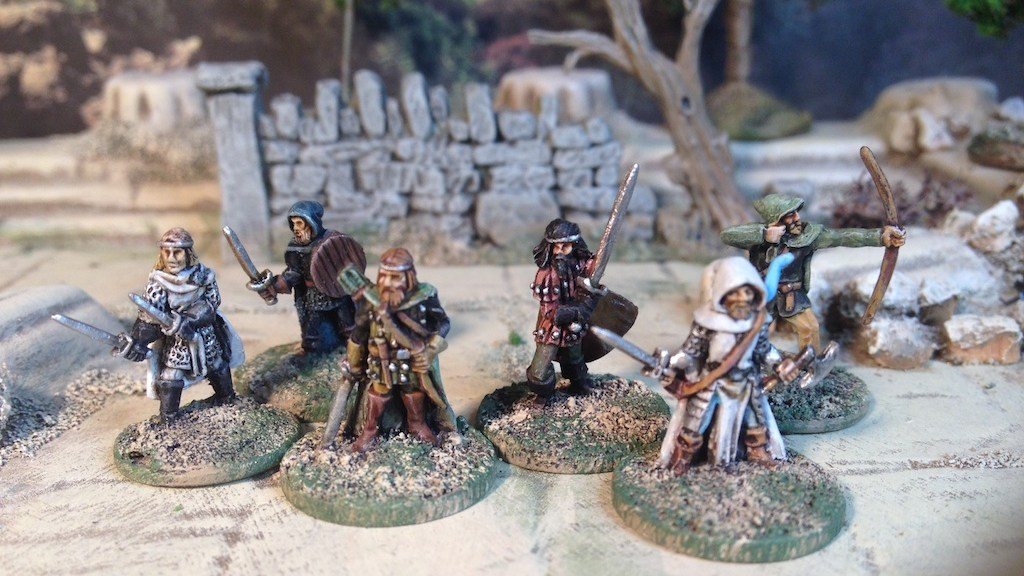 Splintered Light Miniatures fantasy Dungeon adventurers