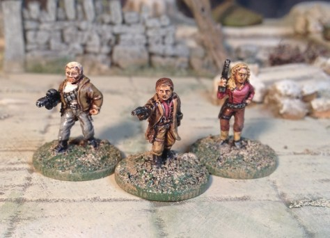 Ground Zero Games Firefly characters 15mm miniatures
