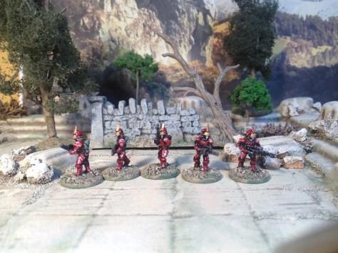 Rebel Miniatures 15mm Titan Stormtroopers