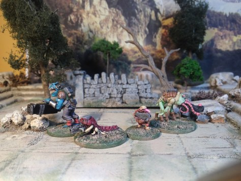 Khurasan Miniatures Jasmine Throne Alien Legion