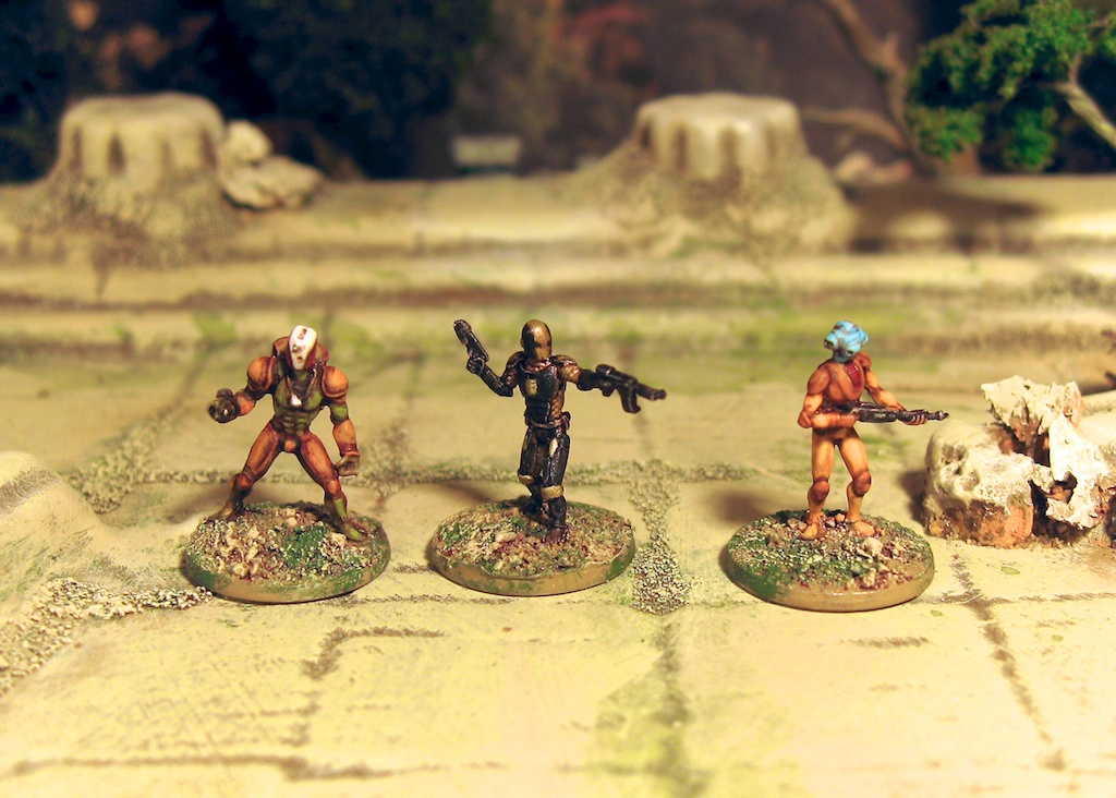 15mm Infinity? Scifi sculpts by PF from CP Models and Brigade Models