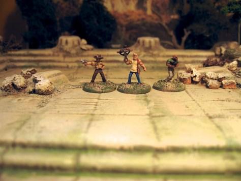 Khurasan Miniatures 15mm Walking Dead zombie survivors