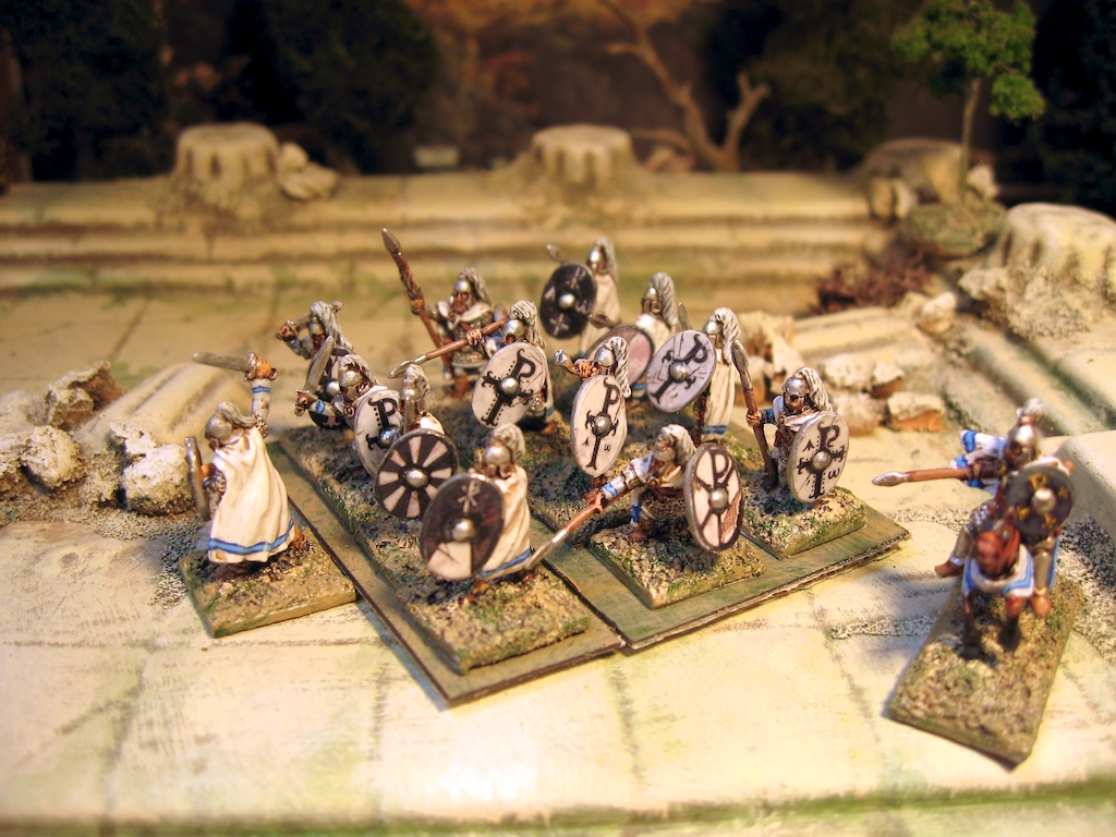 15mm SAGA: Arthurian Warband from Splintered Light