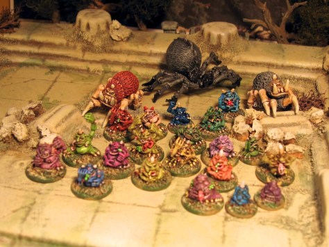 Games Workshop Citadel Nurglings