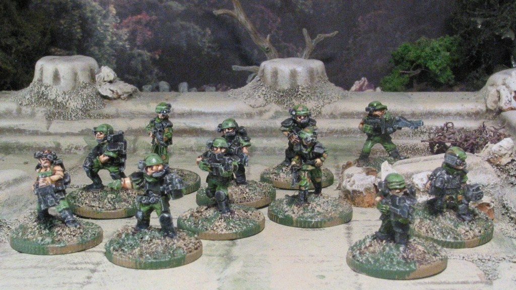 Khurasan Colonial Marines 15mm