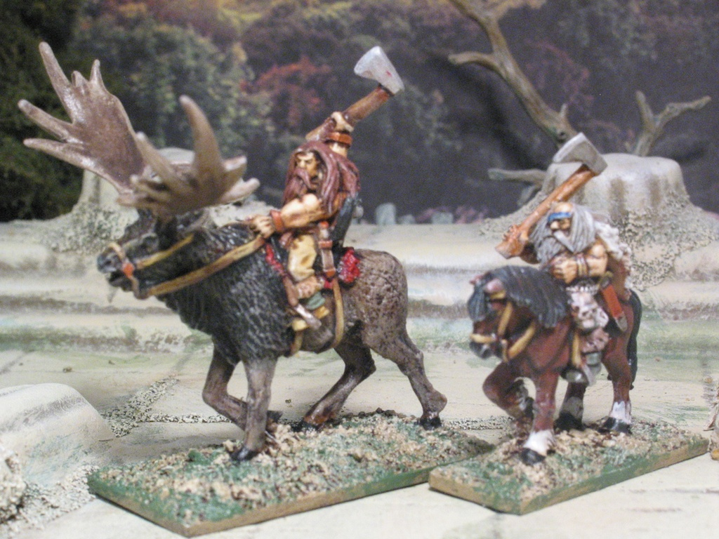 Coolest 15mm Barbarians available: Copplestone rides again!