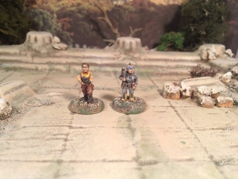 Oddzial Osmy 15mm Insurgents Rebels Post Apocalypse Survivors