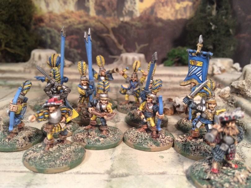 15mm Demonworld Ral Partha Empire City Guard for Frostgrave