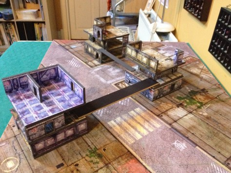 15mm star port sci fi terrain foamcore modular tiles