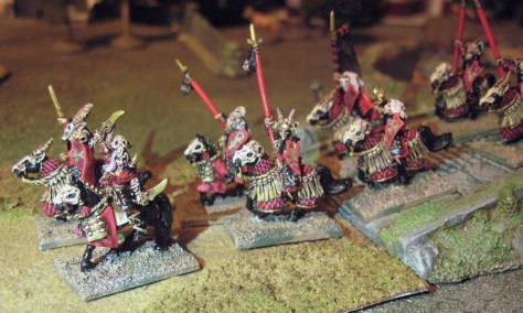 15mm Demonworld Dark Elf Cavalry Dar'Kalon Heavy Cavalry