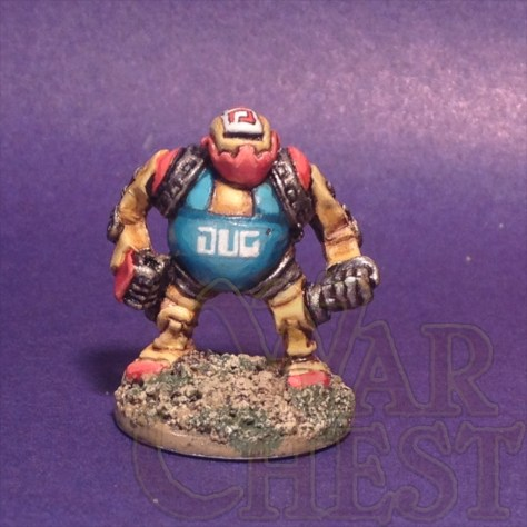 Classic 15mm Traveller miniatures