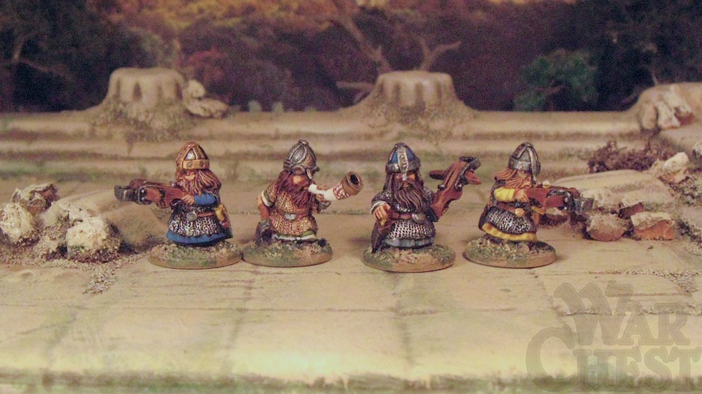 20mm Splintered Light Miniatures Dwarf