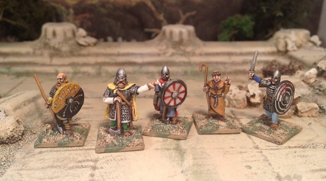 15mm Splintered Light Dark Age Saxons