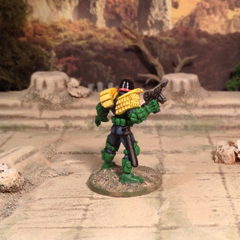28mm Judge Dredd 2000AD SciFi Skirmish