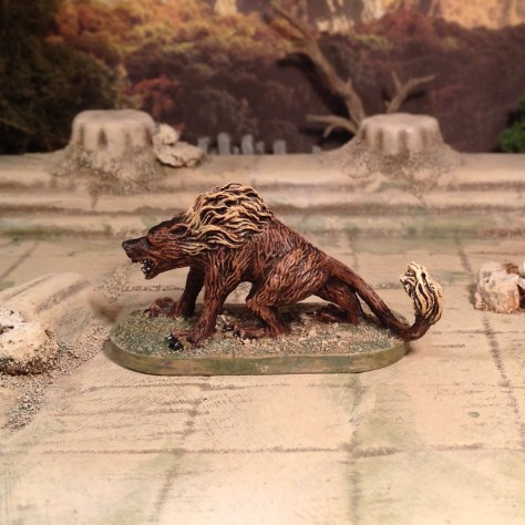 Hell Hound from Descent 2nd Edition hellhound