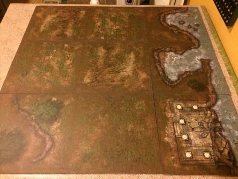 DIY Make your own vinyl wargame tiles battleboard terrain
