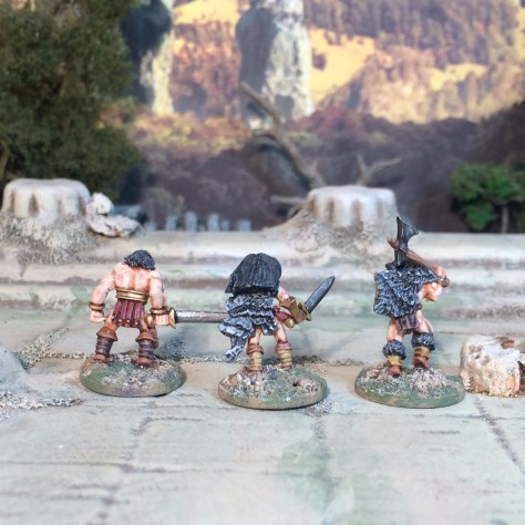 15mm Copplestone Barbarian Conan Barbarica Norse Warriors