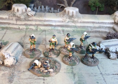 Rebel Minis Sahadeen 15mm Sci-fi post apocalypse desert fighters