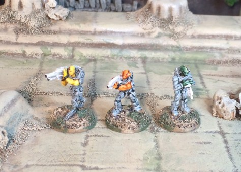 15mm Sci-fi Rebel Minis Pangalactic Legion