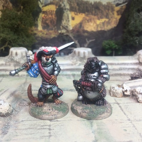Oathsworn Miniatures Burrows and Badgers Anthomorphic 28mm Miniatures