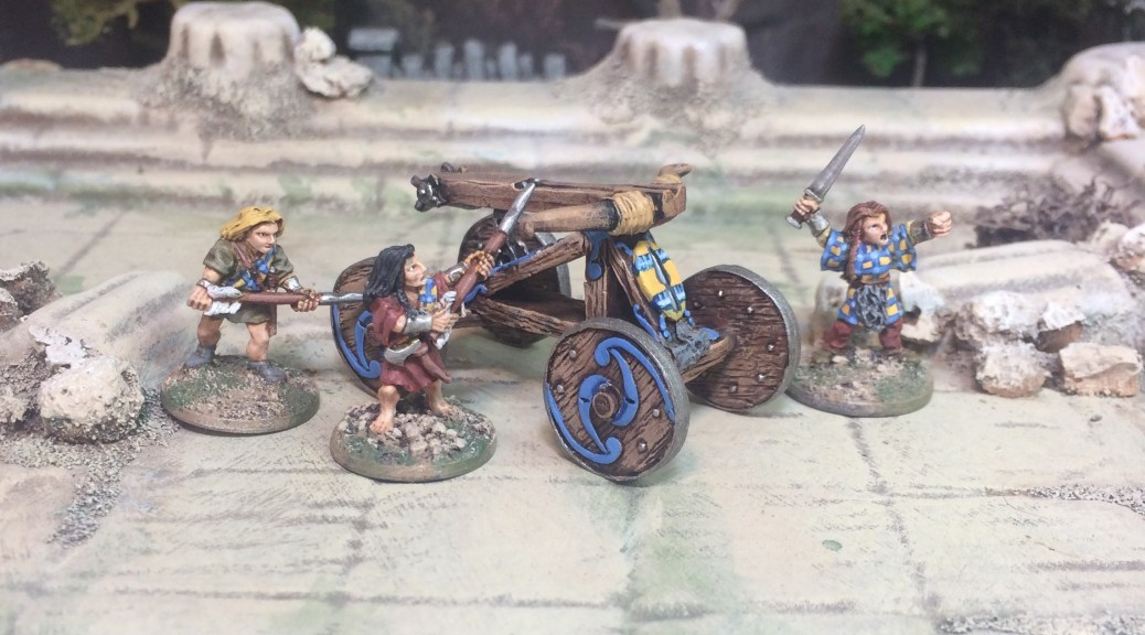 Demonword 15mm Warlords of Thain 'Eagle Arrow' Ballista