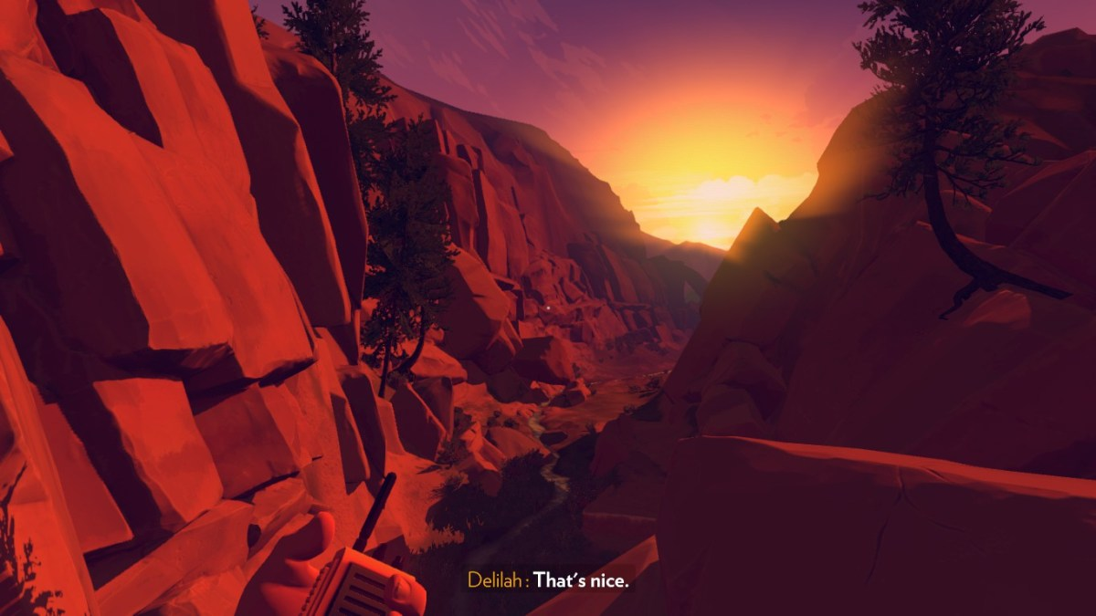 Firewatch walkie talkie simulator