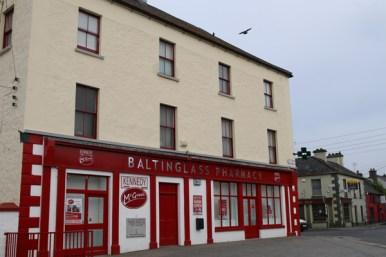 Webb's Corner, now the location of Baltinglass Pharmacy, © A C Ward 2016