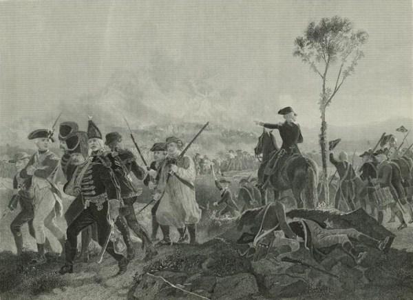Battle of Bennington, ca 1900, New York Public Libraries