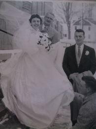 Edward Hayes 1958 daughters wedding 3