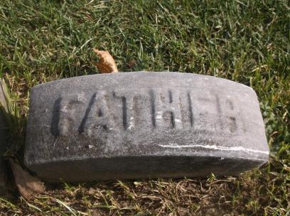 Edward Styles Sr headstone top