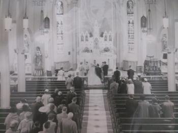 Holy Family Church 1958