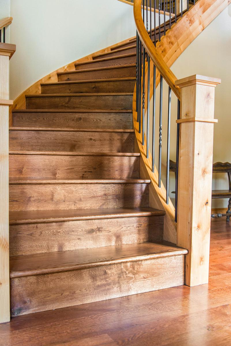 Stairs Amp Hand Rails Hardwood Flooring Colorado Ward