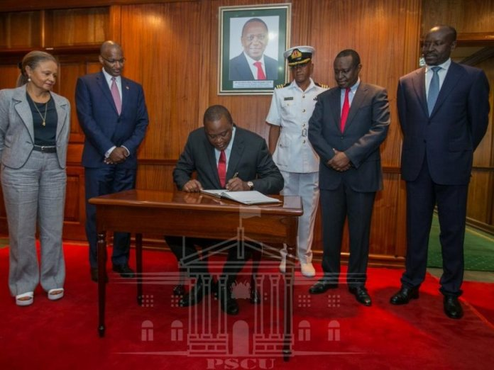 Image result for uhuru unveils new notes