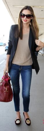 Miranda Kerr looks absolutely gorgeous before catching a flight at LAX. April 26, 2013 X17online.com