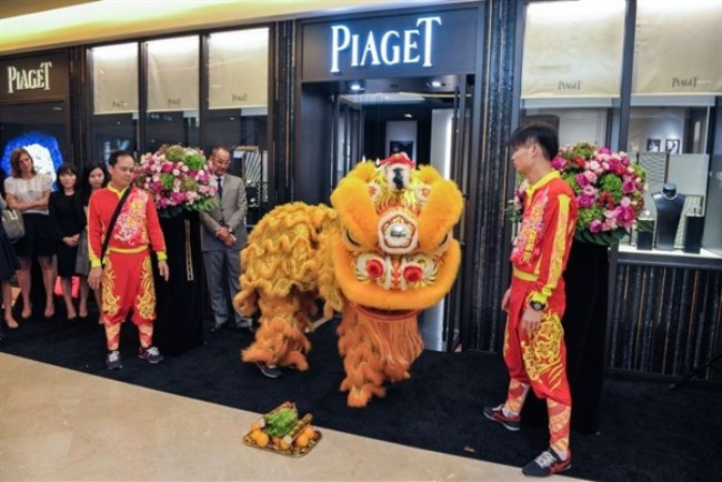 WTFSG_piaget-inaugurates-new-boutique-in-ngee-ann-city-singapore_Lion-Dance