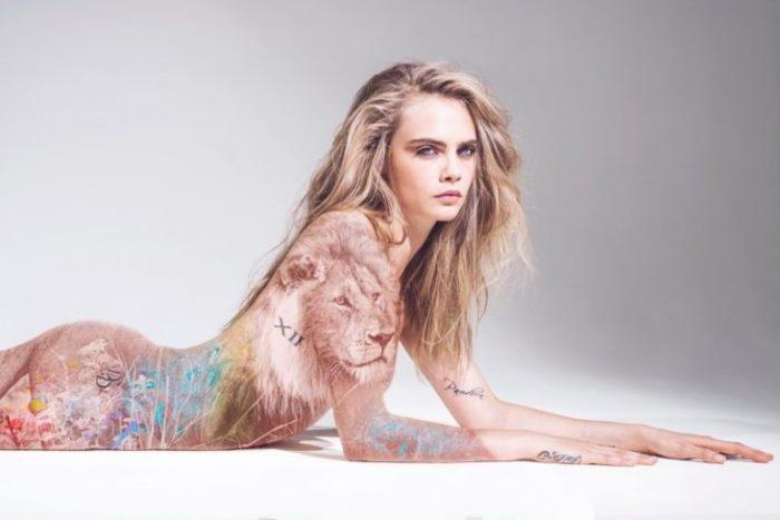 WTFSG_Cara-Delevingne-Naked-Animal-Rights-Campaign_1