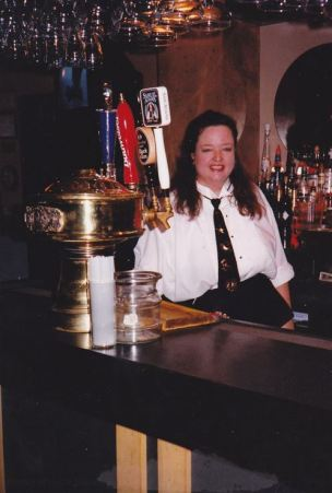 Suzy Daffron Allen, One of the Great Uncle Louie's Bartenders