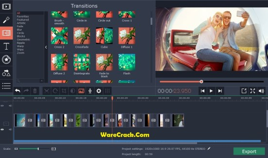 Movavi Video Editor 14 Crack Plus Activation Key Download
