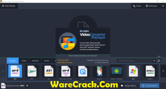 Movavi Video Converter Crack Premium