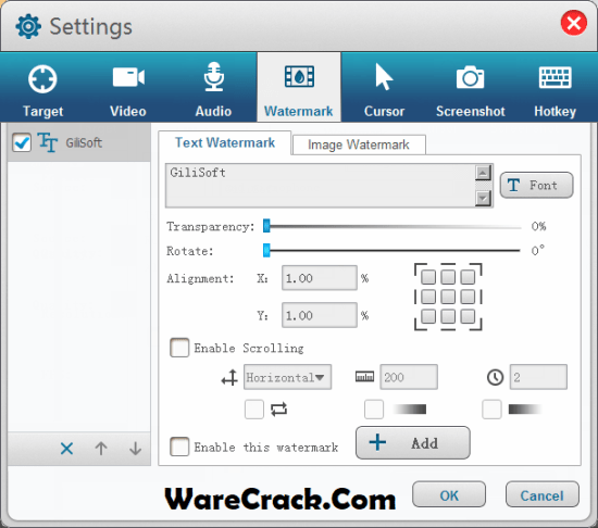 Gilisoft Screen Recorder License Key