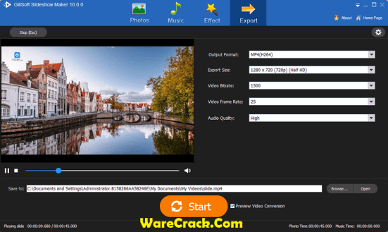 Gilisoft Slideshow Maker Full Free Download