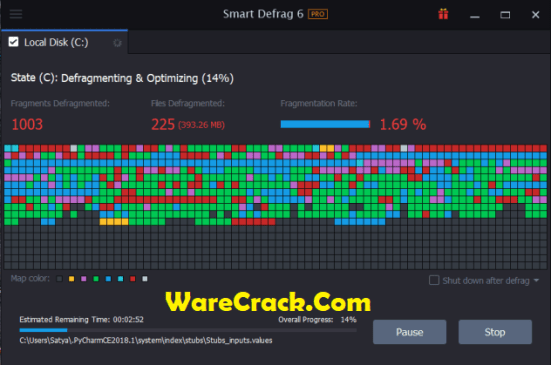 IObit Smart Defrag 6 Key
