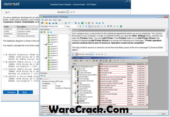 VCE Exam Simulator 2.4.2 Crack