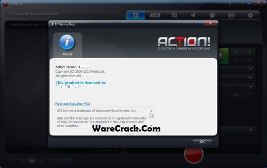 Mirillis Action 3.6.1 Crack