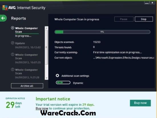 AVG Internet Security 2019 Serial Key