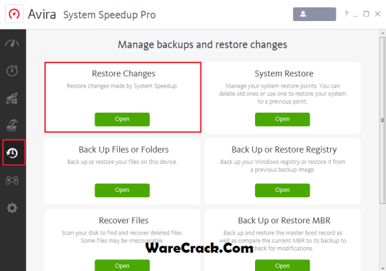 Avira System Speedup Pro Serial Key