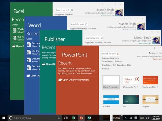 Microsoft Office 2016 Crack Free Download